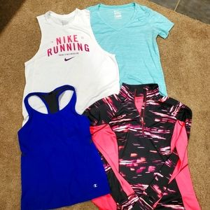 Lot of Size Large Women's Athletic Tops